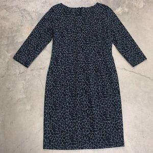 NWT Talbots Leopard Print Dress